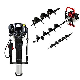 T-Mech Earth Auger and 4 Stroke Post Driver