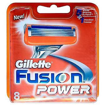 Gillette Fusion Power lâminas de barbear-Pack de 8