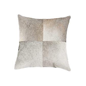 "18"" x 18"" x 5"" Gray Quattro - Pillow"