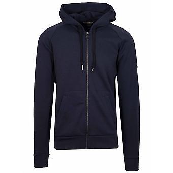 Colmar Colmar Navy Metal Logo Hooded Sweatshirt