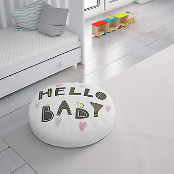 Meesoz Floor Cushion - Hello Baby