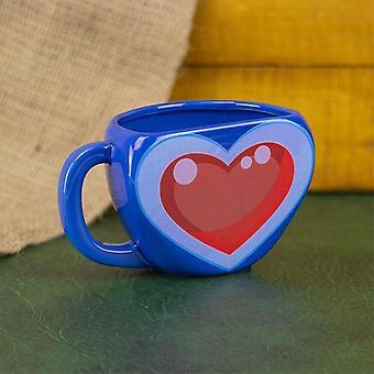 The Legend of Zelda - Heart Container Mug - Gaming Merchandise