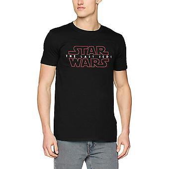 Star Wars Adults Unisex Adults The Last Jedi Logo Design T-Shirt