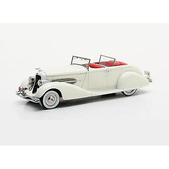 Duesenberg SJ 544-2570 Bohman and Schwartz Cabriolet Resin Model Car