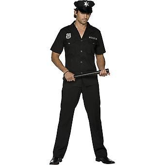 """Fever Cop Costume, Chest 42""""-44"""", Leg Inseam 33"""""""