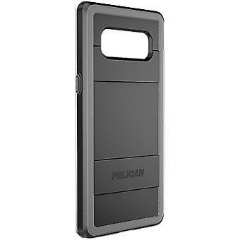 Pelican Protector Case for Samsung Galaxy Note 8 - Black/Gray