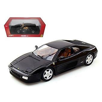Ferrari 348 tb negro 1/18 Diecast Coche Modelo Por Hotwheels