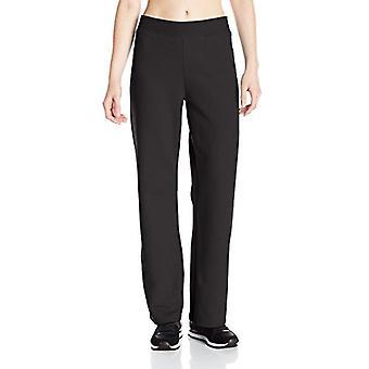 Hanes Women's Petite-Length Middle Rise Sweatpants -, Ebony, Size Small Petite
