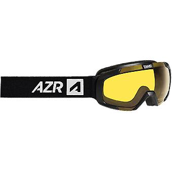 AZR Moon AD Black Yellow Mat Ski Mask