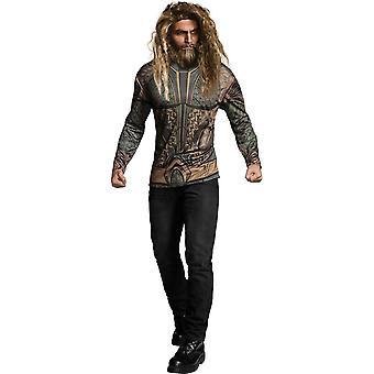 Aquaman aikuisten puku T-paita