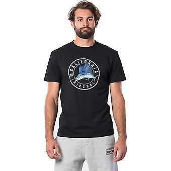 Rip Curl Destination Surf Short Sleeve T-Shirt en noir