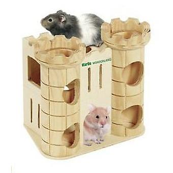 Karlie Flamingo CASTLE HAMSTER FOR ROBIN GAME TOWER 16 x 11 x 15 CM