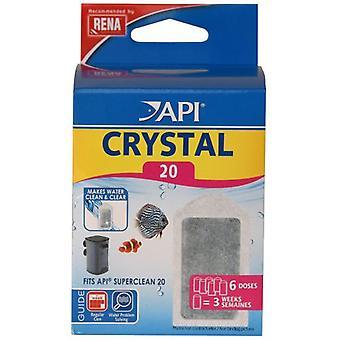 Superclean20 кристалл API X 6 (рыба, Фильтры & водяные насосы, фильтр Губка пены)