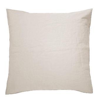 Bambury French European Pillowcase Pebble