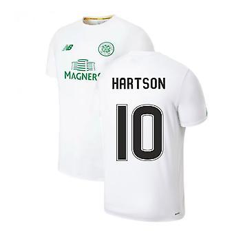 2019-2020 Celtic Pre Game Training Jersey (White) (Hartson 10)