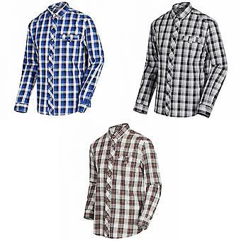 Regaty Lothar mężczyźni z długimi rękawami wyboru Wzorzysta koszula