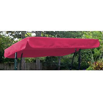 Pink Acqua Resistente 3 Posti Replacement Puòopy per Garden Hammock Swing Seat
