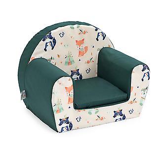 Pronto Letto Stabile Bambini Mini Poltrona Sedia per sedili per bambini Ottimo per PlayRoom Bambini Camera Soggiorno Leggero e durevole (amici della foresta)