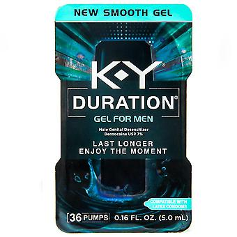 K-y duration male genital desensitizer gel pump, 0.16 oz