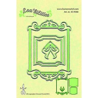 LeCrea Lea'bilitie Cut and Embossing Die – Classic Rectangle Frame