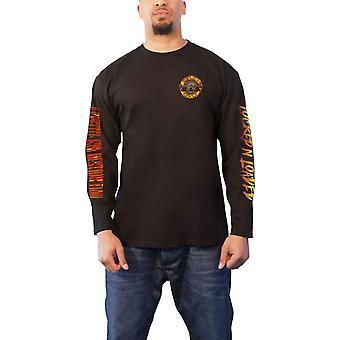 Guns N Roses T Shirt Appetit auf Zerstörung Offizielle Herren schwarz Langarm