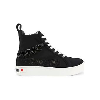 Love Moschino - Shoes - Sneakers - JA15533G1AIH_L000 - Ladies - Schwartz - EU 40