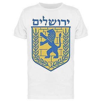 Emblema de Jerusalém Tee Men's -Imagem por Shutterstock