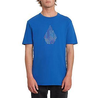 T-shirt Volcom - Circuit LTW bleu