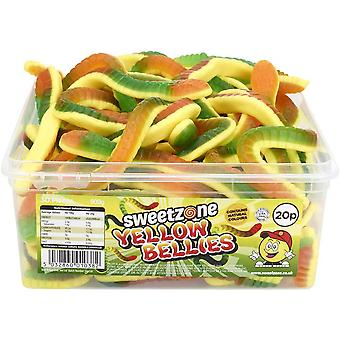SweetZone Yellow Bellies (30) pieces 900g