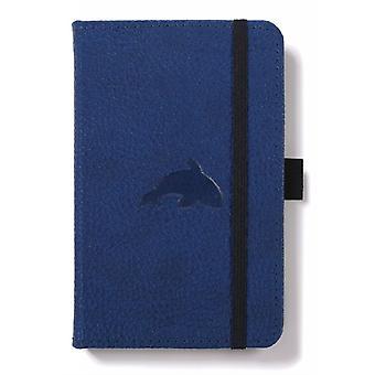 Dingbats A6 Pocket Wildlife Blue Whale Notebook  Plain