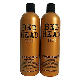 TIGI Bed Head Colour Goddess Shampoo & Conditioner Set 25.36 OZ each