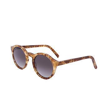 Lunettes de soleil monokel lunettes Barstow marbre Havane gris lentille