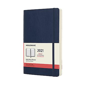 2021 12M Daily Ntbk Lrg Sapphi Blue Soft