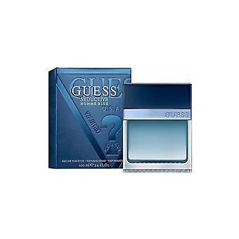 Guess - Verführerisch Blau für Herren - Eau De Toilette - 100mlML
