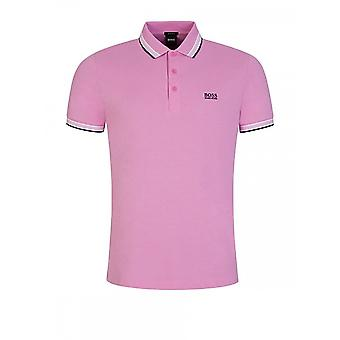 Hugo Boss Paddy Regular Fit Pique Pink Polo
