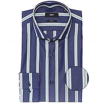 BOSS سليم فيت مخطط جيسون قميص