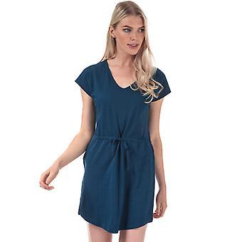 Women's Jacqueline de Yong Pastel Life V-Neck Dress in Blue