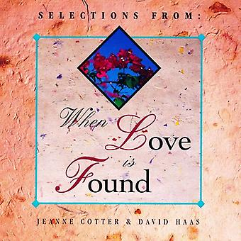 Haas, David / Cotter - When Love Is Found [CD] USA import