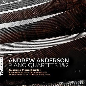 Piano Quartets 1 & 2 [CD] USA import