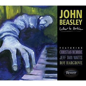 John Beasley - Letter to Herbie [CD] USA import