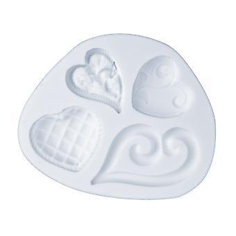 Flexible Mould, Fancy Hearts Design