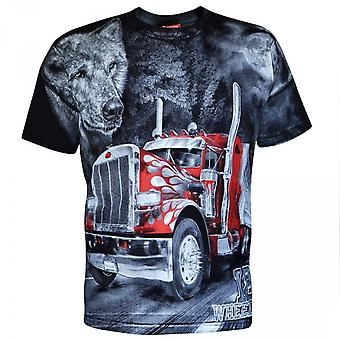 Aquila - camionneur long-courrier - t-shirt homme