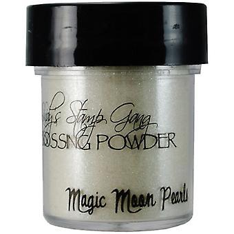 Lindy's Stamp Gang Magic Moon Pearls Embossing Powder