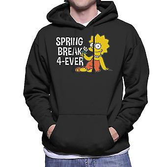 Simpsons Spring Break 4ever Lisa Miesten huppari