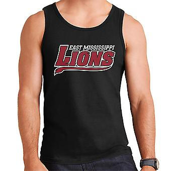 East Mississippi Community College Lions Tail Logo Men's Vest
