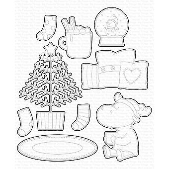 My Favorite Things Merry Christmoose Die-namics