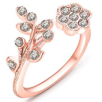 Rose Gold Ayarlanabilir Moda Yüzüğü