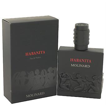 Habanita Eau De Parfum Spray (New Version) By Molinard