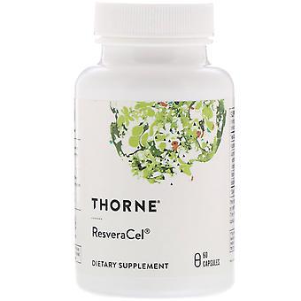 Thorne Research, ResveraCel, 60 Capsules
