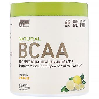 MusclePharm, Natural BCAA, Lemonade, 0.56 lbs (255 g)